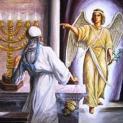 Thiên thần báo trước việc Samson sinh ra