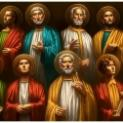 12/09 Suốt đêm, Người cầu nguyện, Người chọn mười hai vị mà Người gọi là Tông đồ
