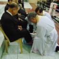 Đức Tổng Giám mục Huế cử hành Thánh lễ Tiệc ly tại Giáo xứ Gia Hội