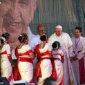Đức Thánh Cha viếng thăm Học Viện Đức Bà ở Dhaka