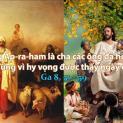 06/04 Cha các ngươi là Abraham đã hân hoan vì nghĩ sẽ được thấy ngày của Ta