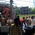 Cứu trợ tại vùng lũ thuộc Tổng Giáo phận Hà Nội