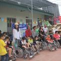 Caritas Hà Nội - Trao tặng 52 chiếc xe lăn cho người khuyết tật