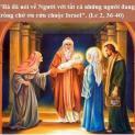 30/12 Bà đã nói về Người với tất cả những người đang trông chờ ơn cứu chuộc Israel