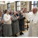 Đức Thánh Cha tiếp 250 nữ tu dòng thánh Cabrini
