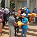 Cộng Đoàn Lòng Thương Xót Giáo xứ Tân Việt thực thi bác ái mùa chay 2017