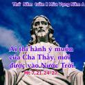 07/12 Ai thực hiện ý Chúa Cha, sẽ được vào nước trời