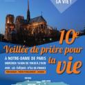 Đêm Canh Thức Lần Thứ X Tại Nhà Thờ Đức Bà Paris Cầu Nguyện Cho Sự Sống