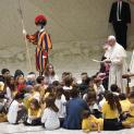 Đức Thánh Cha nói với các nhân viên của Bệnh viện Chúa Hài Đồng Giêsu: 'Phúc cho những bàn tay chữa lành'