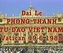 Ai chống việc tuyên thánh tử đạo Việt Nam ?