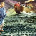 06/01 Chúa Giêsu đi trên mặt biển