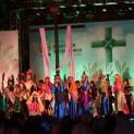 Cảm động Đàng Thánh giá trong đại hội giới trẻ TGPHN 2018