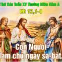 20/07 Con Người là chủ ngày Sabbat