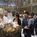 Bài giảng của Đức Thánh Cha trong lễ rửa tội cho 27 hài nhi tại nhà nguyện Sistina