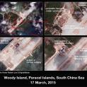 Trung Quốc đang mở rộng hai đảo ở Hoàng Sa