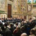 Đức Thánh Cha Phanxicô tiếp kiến ngoại giao đoàn cạnh Tòa Thánh