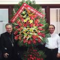 Phái đoàn Giáo phận Thanh Hóa chào mừng Đức Tân Giám Mục Giuse tại Đà Lạt