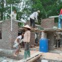 Caritas Hà Nội: Hoàn thiện nhà tình thương trước mùa mưa bão