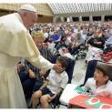 Đức Thánh Cha tiếp Hội Italia chống bệnh loạn dưỡng bắp cơ