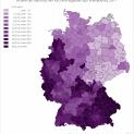 Thống kê về Giáo hội Công giáo nước Đức năm 2019.