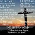 Bảy lời sau cùng của Chúa Giesu