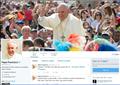 Trang Twitter của Đức Giáo Hoàng đạt hai mươi hai triệu bạn đọc theo dõi
