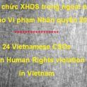 24 Tổ chức XHDS trong ngoài nước Báo cáo vi phạm nhân quyền 2014