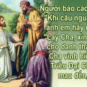 05/10 Chúa Giêsu dạy lời cầu nguyện tuyệt vời